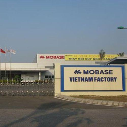 Hệ thống ống gió tại Công ty TNHH Mobase Việt Nam